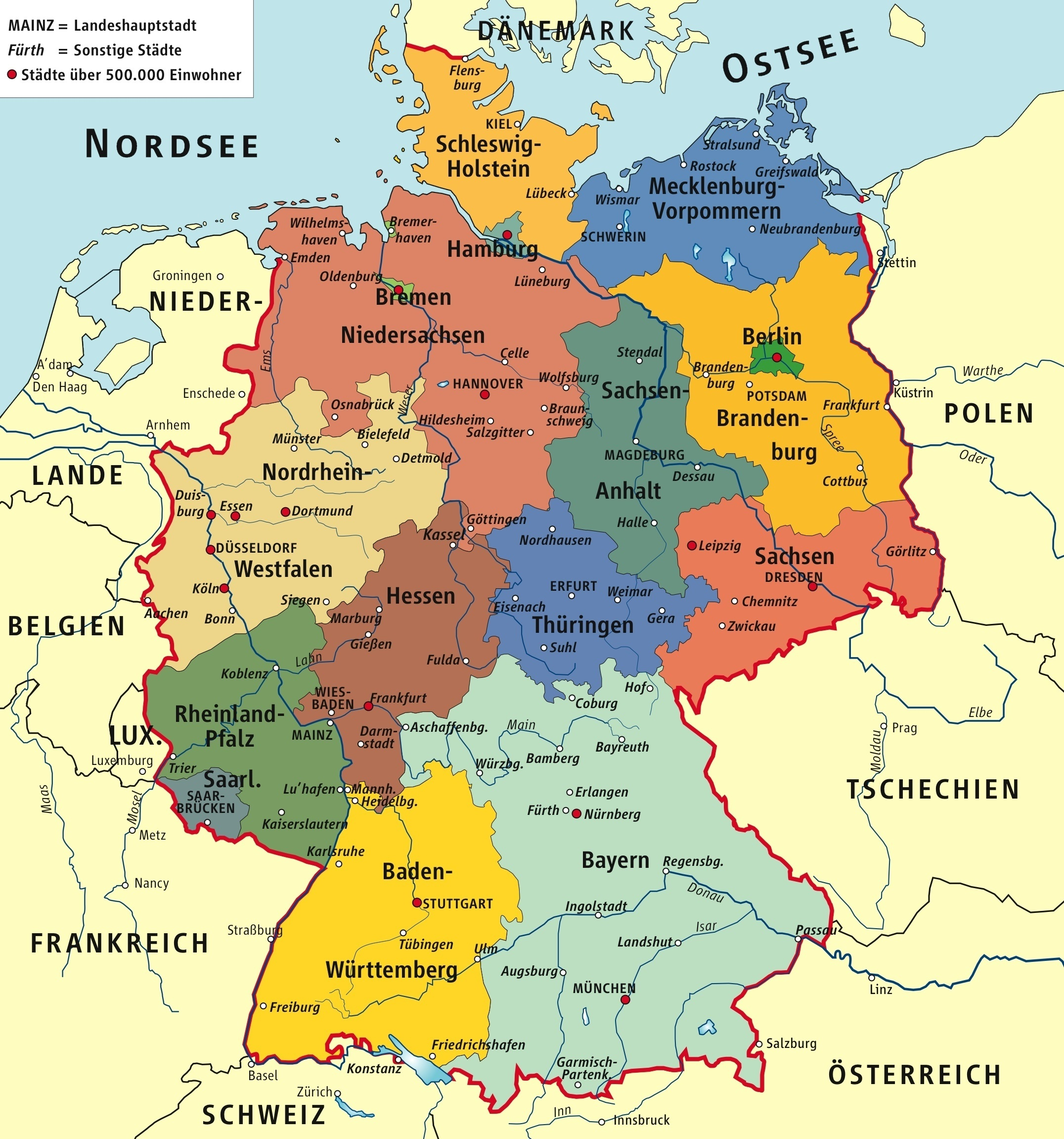 What was the territory of Germany before and after World War ...