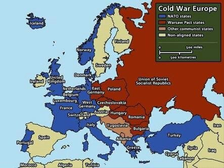 After world war ii why did the soviet leaders argue that their later the soviet union formed the warsaw pact to counter nato gumiabroncs Choice Image