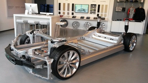 How does a tesla car work