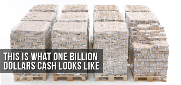 What does a billion dollars look like quora for How much money does it take to build a house
