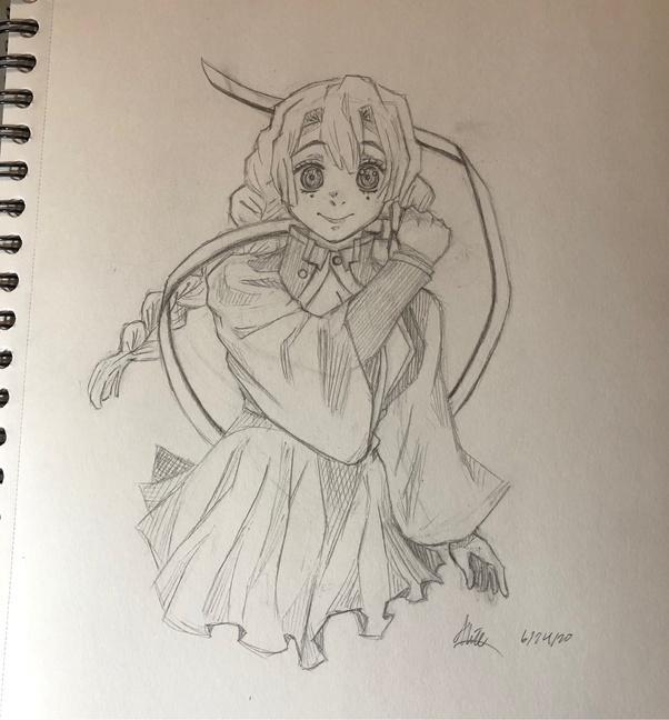 Mitsuri Kanroji The Love Pillar Anime And Manga Artwork Quora #digital 2d #comic art #anime & manga #fan art #demon slayer #kanroji #mitsuri #pink #kimono #sword #skirt #stocking. mitsuri kanroji the love pillar