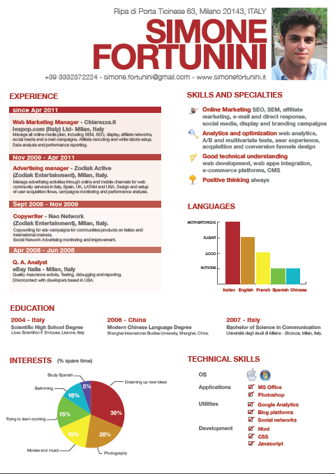 Is a beautiful graphical CV better than a text-only professional one ...