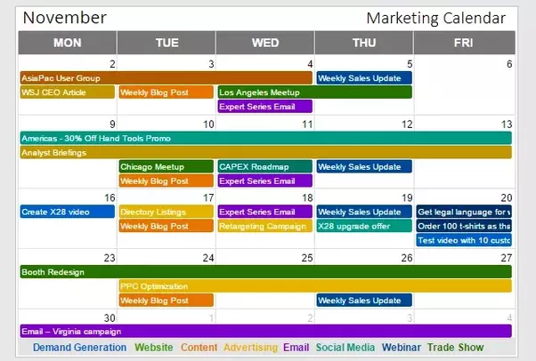 strategic planning calendar template - is there a good marketing calendar tool or website quora