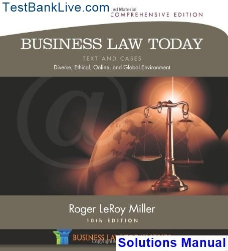 legal environment of business 10th edition pdf