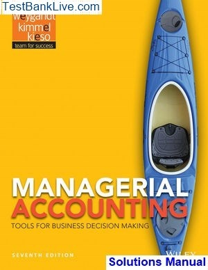 Accounting Tools For Business Decision Making 4th Edition Pdf
