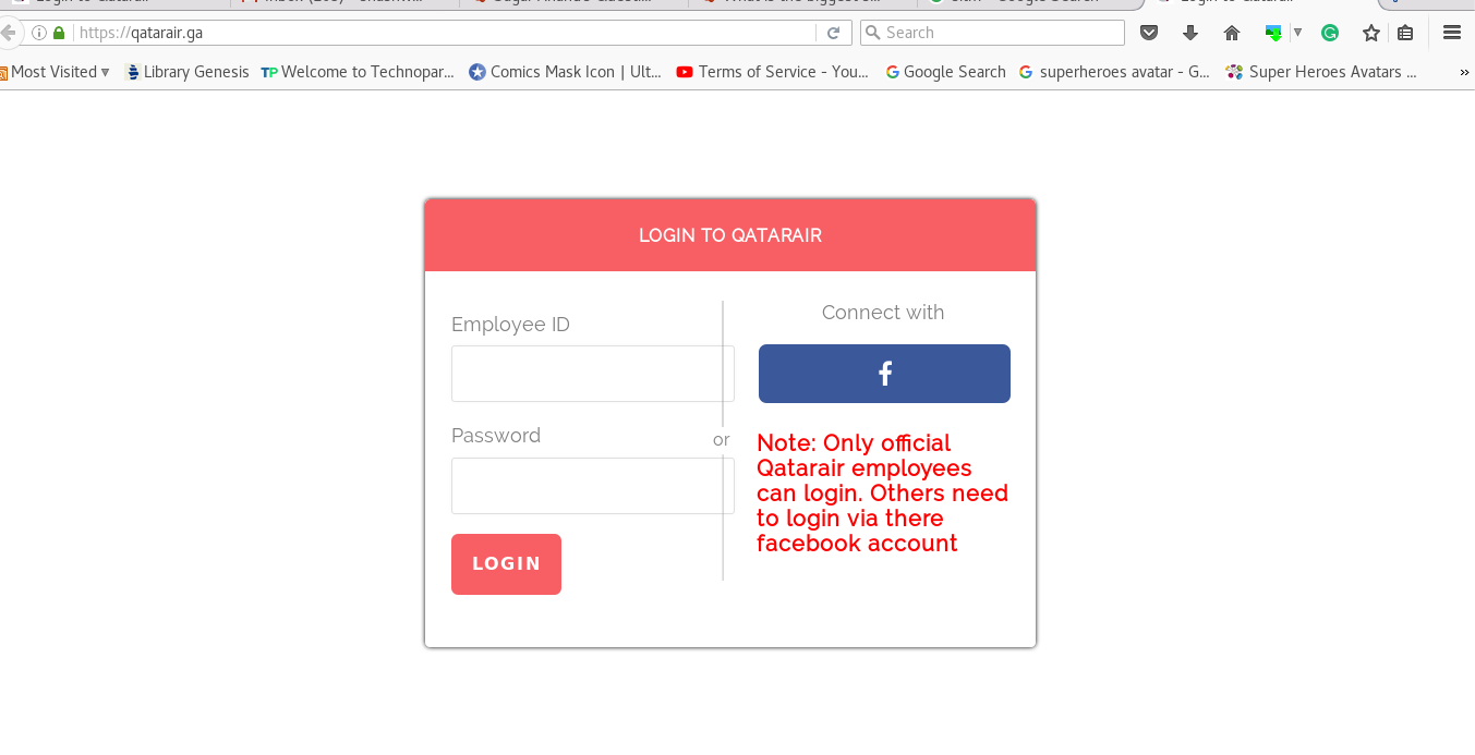 facebook login official site
