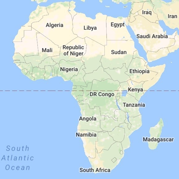 What Is The Biggest Country In Africa Quora - What is the biggest country