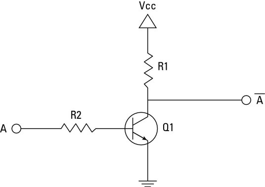 in logic circuits, how does a not gate provide the opposite Logic Gates Examples