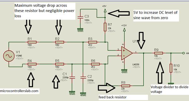 how to measure ac current using microcontroller quora rh quora com Current vs Voltage Clamp Clamp DC Current Measurement Circuit