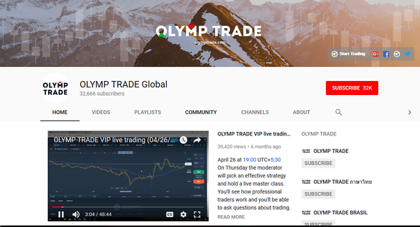What is olymp trade quora
