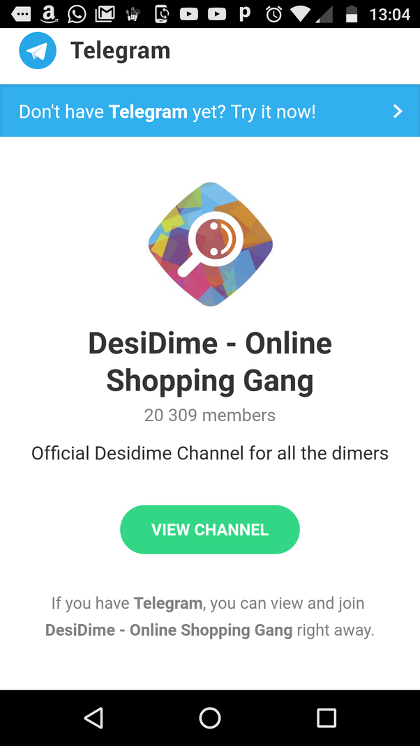 What are the best shopping deal channels on Telegram? - Quora