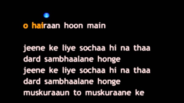 What Hindi song(s) gives you goosebumps or makes you cry