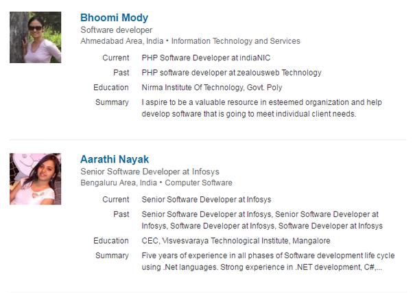 What are some of the best Software Developers LinkedIn profile ...