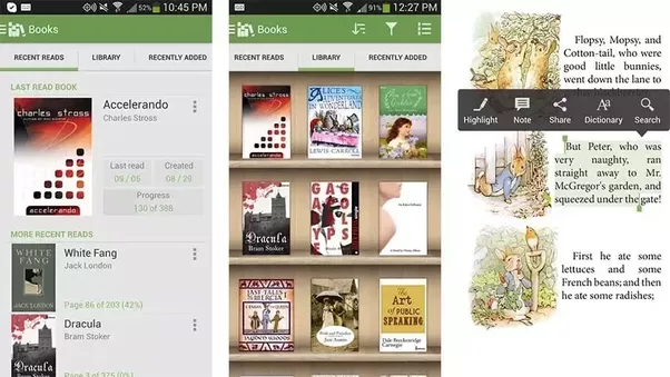 What is the best android application for book reading quora alreader is a newer ebook reader fandeluxe Gallery