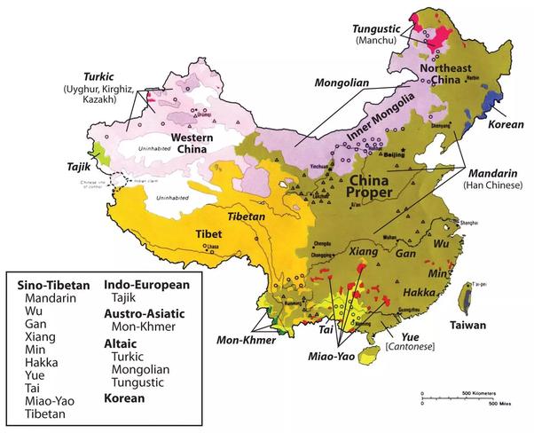 China Language Name Russian Population