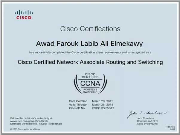 When I pass ICND2 exam will I get ICND2 certification or CCNA ...