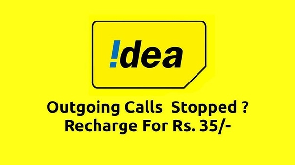 What are outgoing validity extension plans in Airtel, Idea