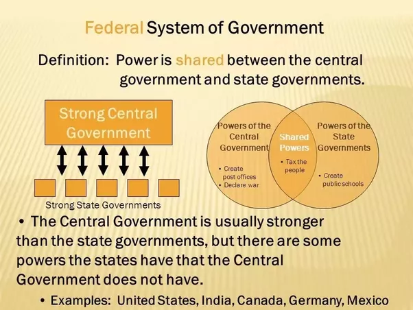 relationship between federal and state gov