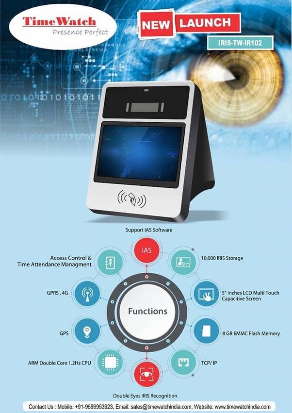 What is the most secure form of biometric authentication available