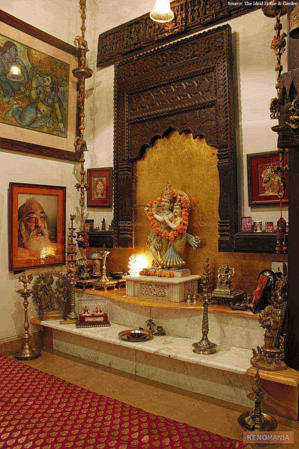 What is the benefit of lighting Deepam in a specific direction in a
