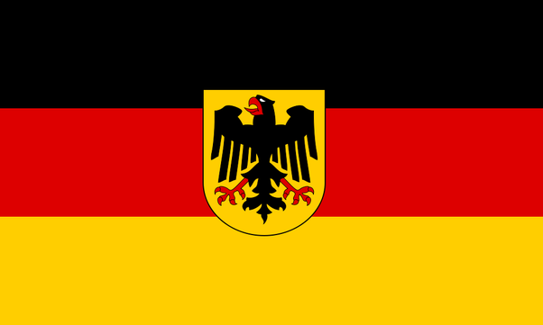 Why Is A Scary Black Bird Sometimes Pictured On The German Flag Quora