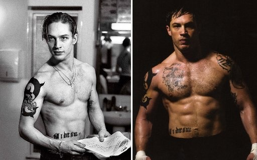 Tom Hardy Diet and Nutrition