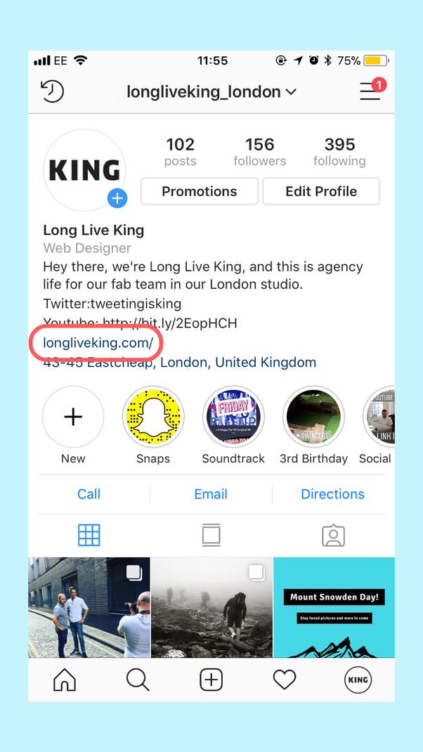 Link In Bio Instagram