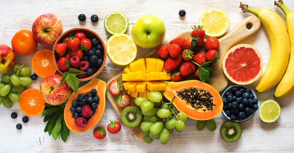 Weight loss on fruit diet