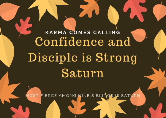 What are the qualities that a person with a strong Saturn