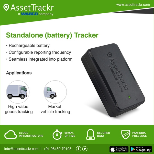 Which is the best GPS tracker in India for a car or a