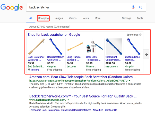 what is the difference between google shopping and google merchant