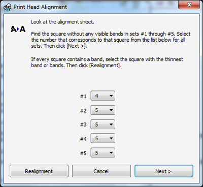 Is it possible to fix print head alignment on my Epson printer, or