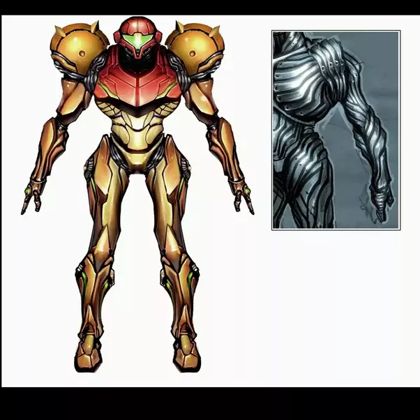 What Is Like The Inside Of Samus Arans Suit?