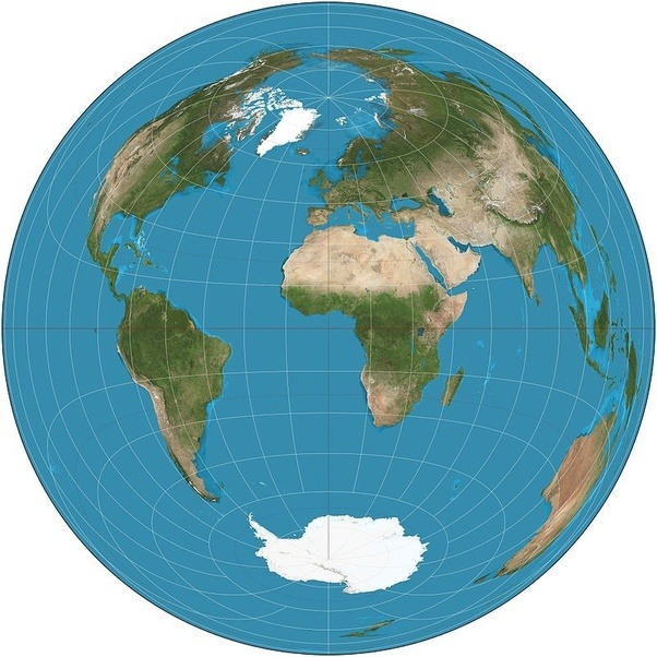 Is the african continent larger than it appears in the world map gall peters area conserving projection gumiabroncs Choice Image