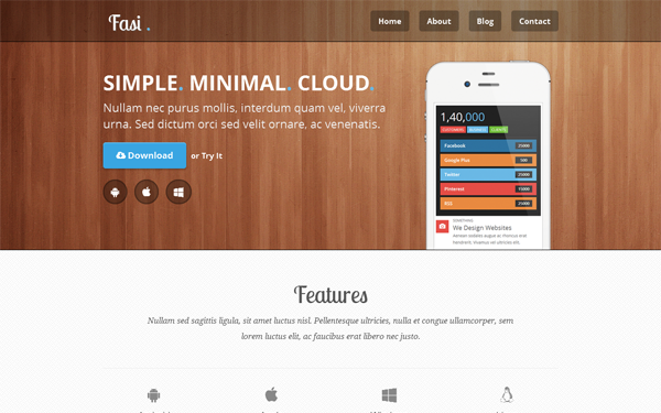 68 best bootstrap 3 themes and templates collec popular 54 fasi responsive bootstrap 3 mobile app theme demo download maxwellsz