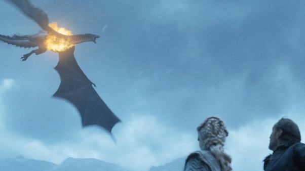 when daenerys says fire cannot kill a dragon does this mean that