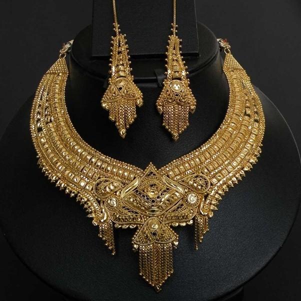 2018 India Jewelry Dubai Gold Jewelry Women Fashion: Why Do We Wear Gold Ornaments?