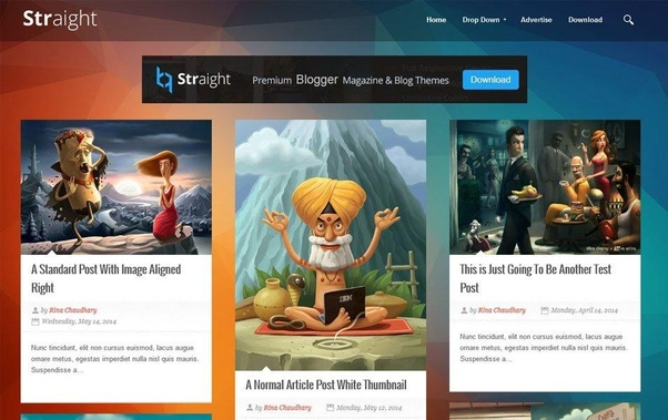 How to download a blogger premium template without cost - Quora