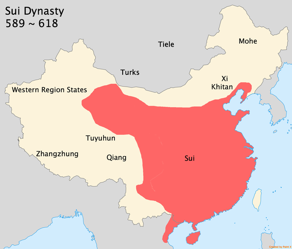 How did china become enormous quora sui was replaced by tang dynasty in 618 tang was a peak of chinese civilization and it was a superpower in terms of military economy sciox Choice Image