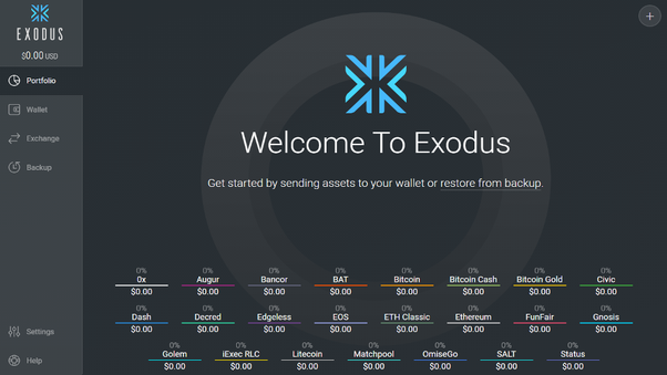 can you convert cryptocurrency to fiat currency in exodus wallet