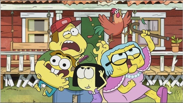 This Picture Is From The Upcomming Disney TV Serie Big City Greens