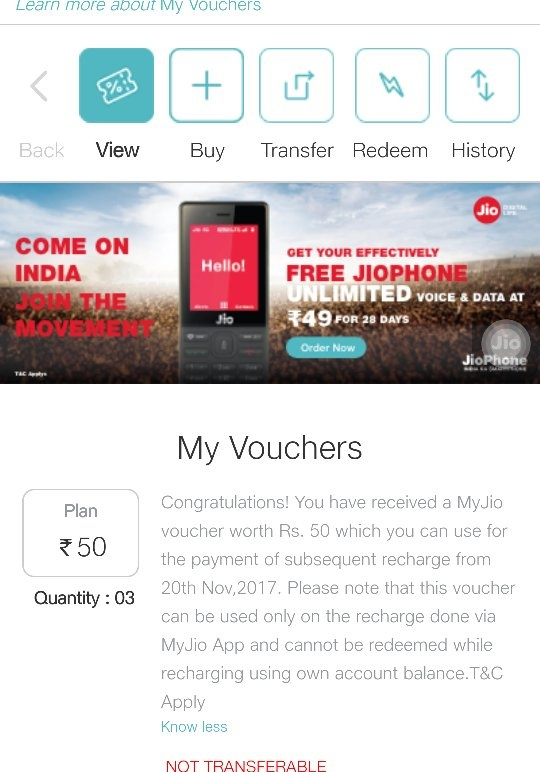 Which Jio coupon code is used when I order a new Jio SIM in