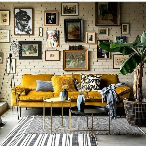 What Colour Cushions Can I Put On A Mustard Sofa Quora