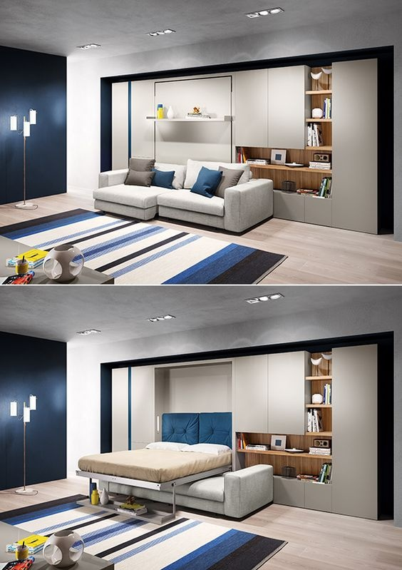 What Are Some Space Saving Modern Bedroom Furniture Ideas And Designs? - Quora