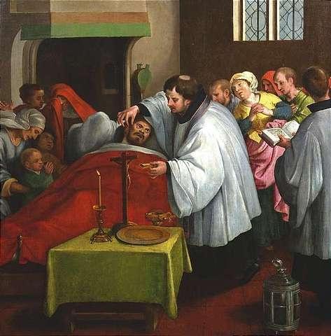 What is purpose of the Catholic last rites prayer? - Quora