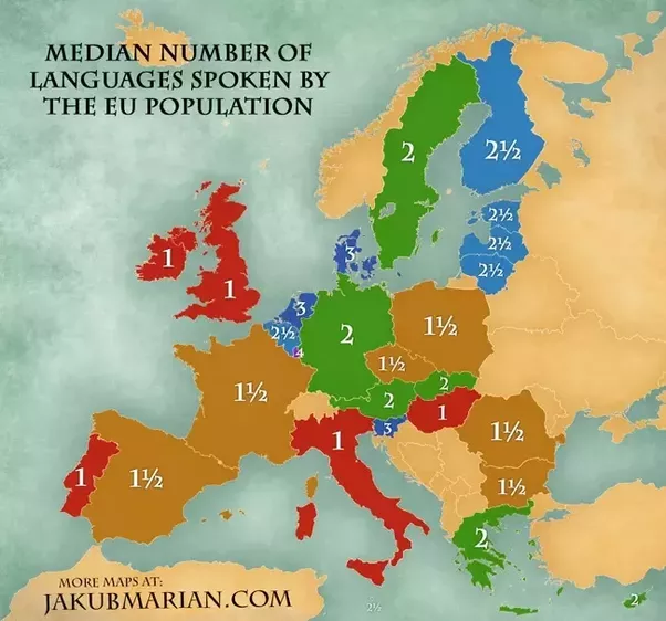 How Many Languages Does The Average Person Speak Quora - Most people speaking language