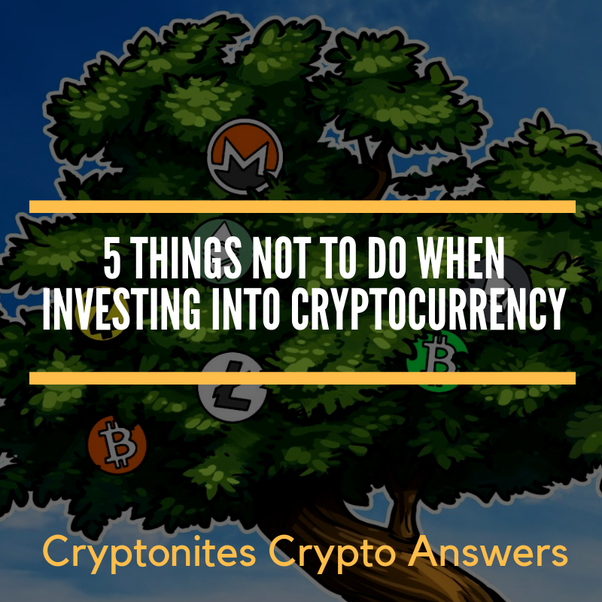 cryptocurrency investing is not real