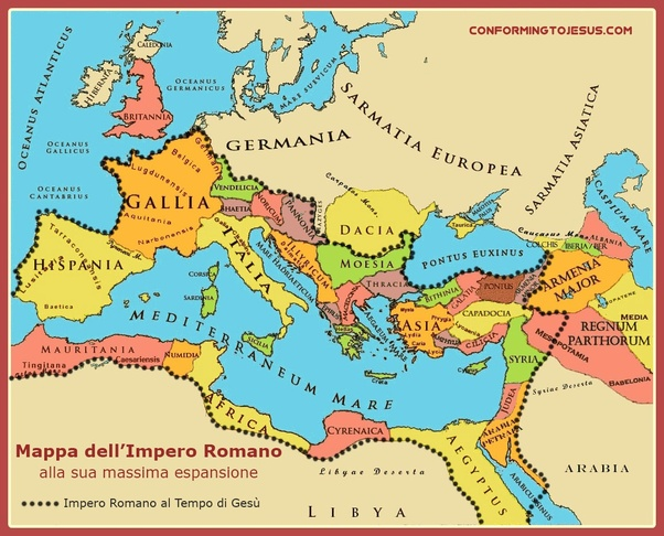 What modern countries were part of the Roman Empire?   Quora