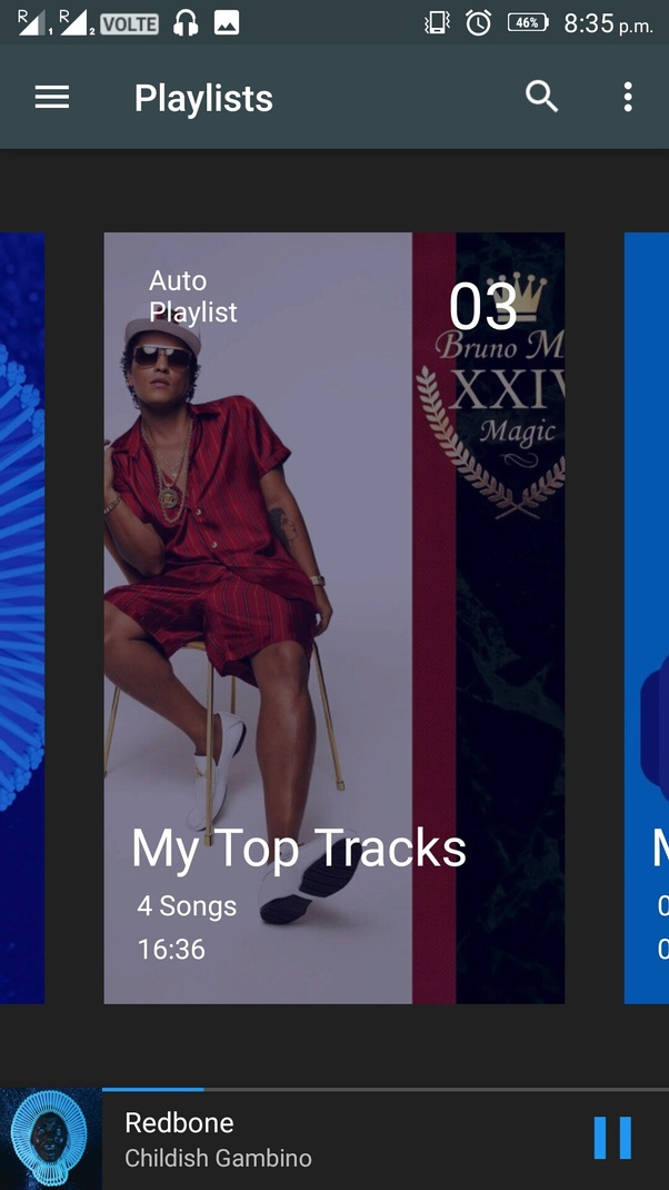 Which android music app gives mp3s the best playback sound