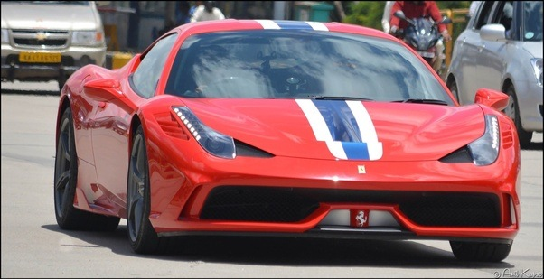 The Very Exclusive Purchase U201cby Invite Onlyu201d Ferrari 458 Speciale Is One Of  Its Kind In The Country. Calls Bengaluru Itu0027s Home.